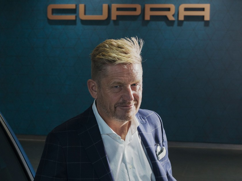 CUPRA CEO Wayne Griffiths