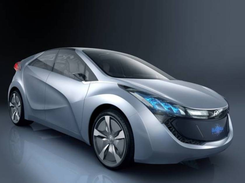 Hyundai concept car blue will 1