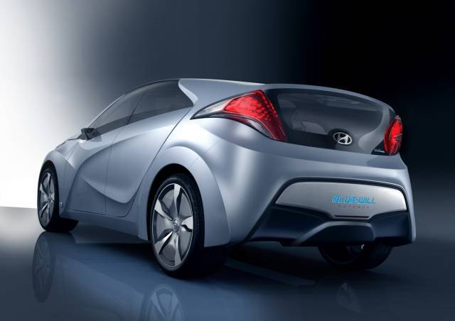 Hyundai concept car blue will 2
