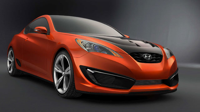 Hyundai Genesis Coupe Show Car