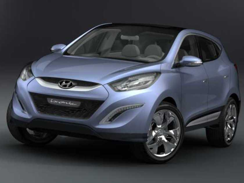 Hyundai HED-6 ix-onic Crossover Concept