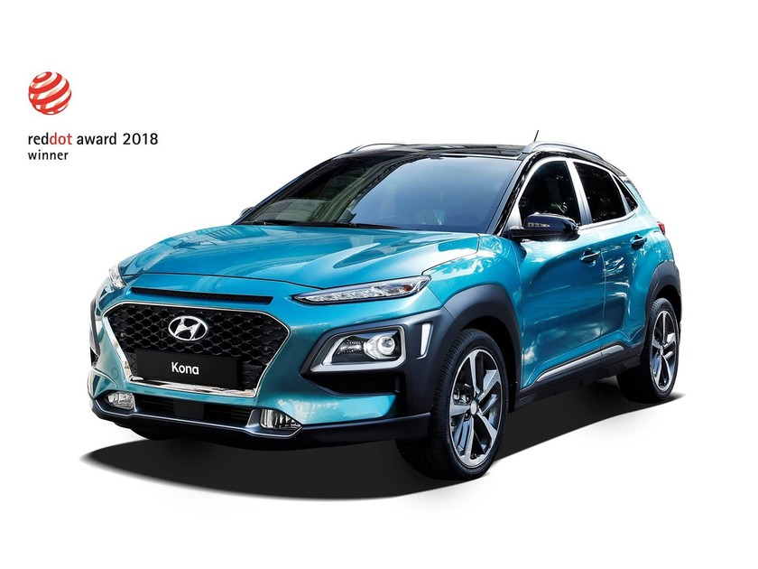 Red dot design award fuer hyundai nexo kona 001