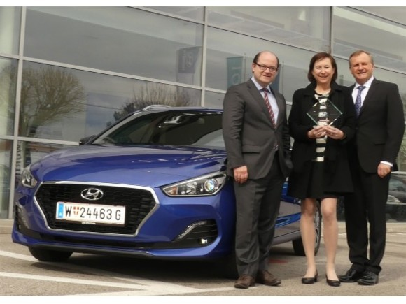 Hyundai i30 Kombi ist Fleet Car of the Year