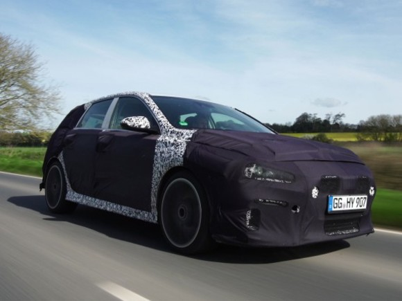 Hyundai i30 N Tests in Großbritannien