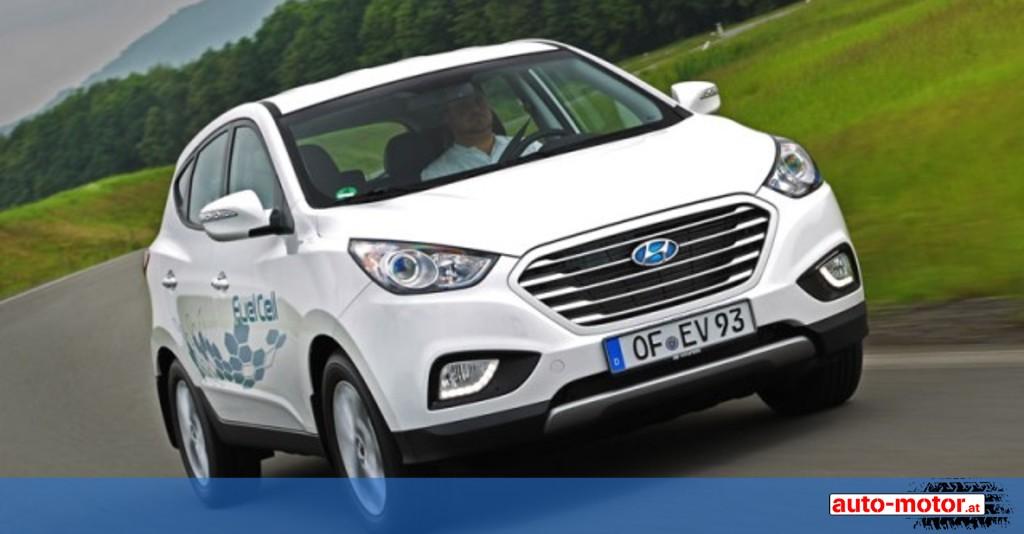 Wasserstoffauto In Serie Hyundai Ix35 Fcev Auto Motor