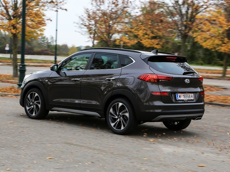 Hyundai tucson level 6 2 0 crdi 4wd at testbericht 010