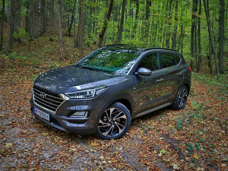 Hyundai tucson level 6 2 0 crdi 4wd at testbericht 014