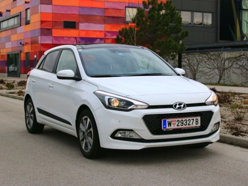 der neue hyundai i20 im test auto. Black Bedroom Furniture Sets. Home Design Ideas