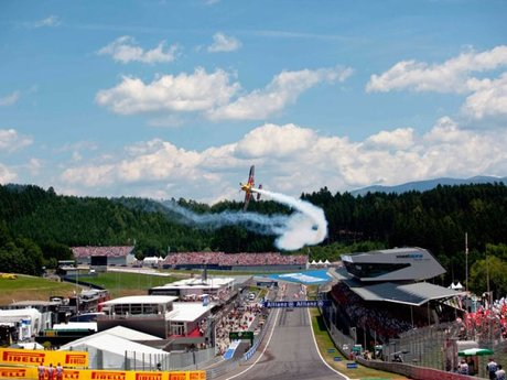 F1 am Red Bull Ring in Spielberg