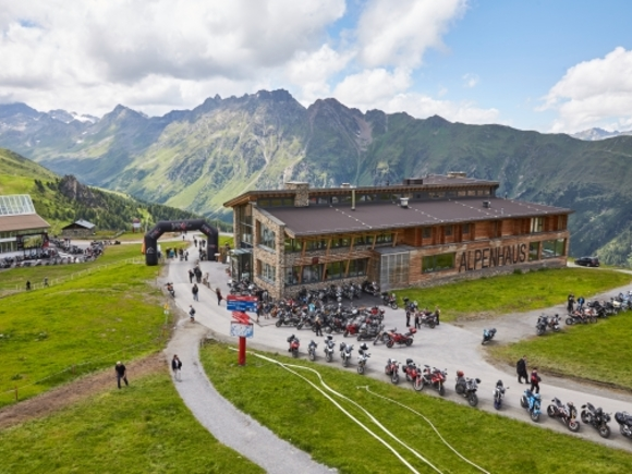 Top of the Mountain Motorradtreffen in Ischgl
