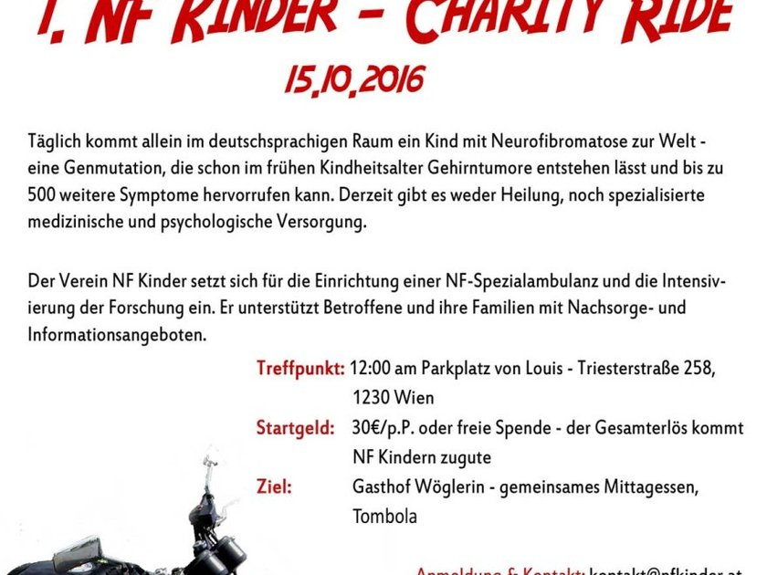 1. NF Kinder - Charity Ride