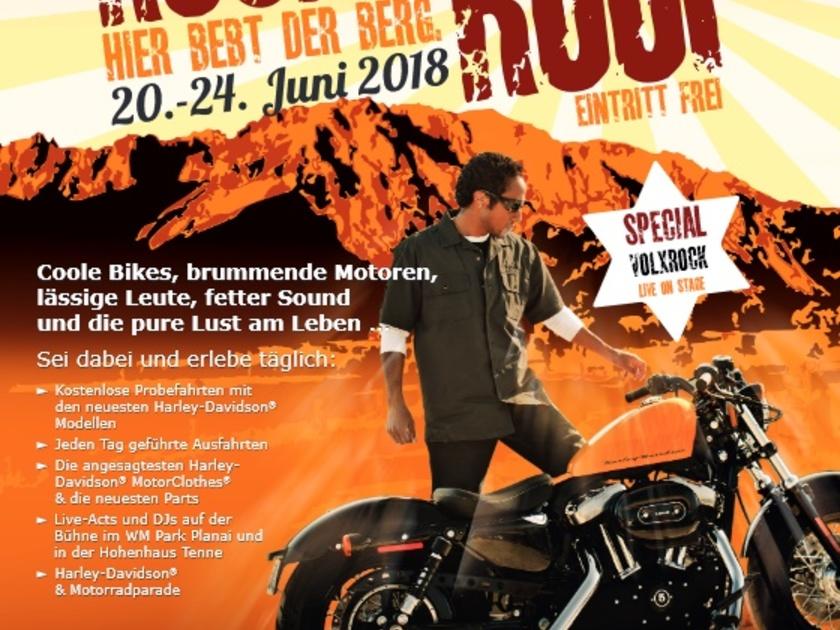 Rock The Roof Biker Party In Schladming Auto Motorat