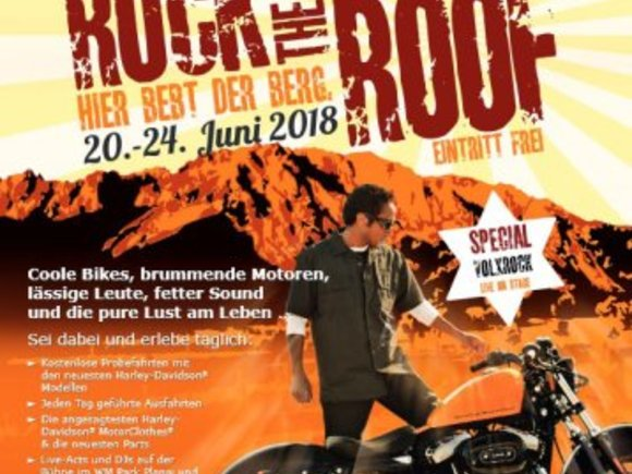 Rock the Roof - Biker-Party in Schladming