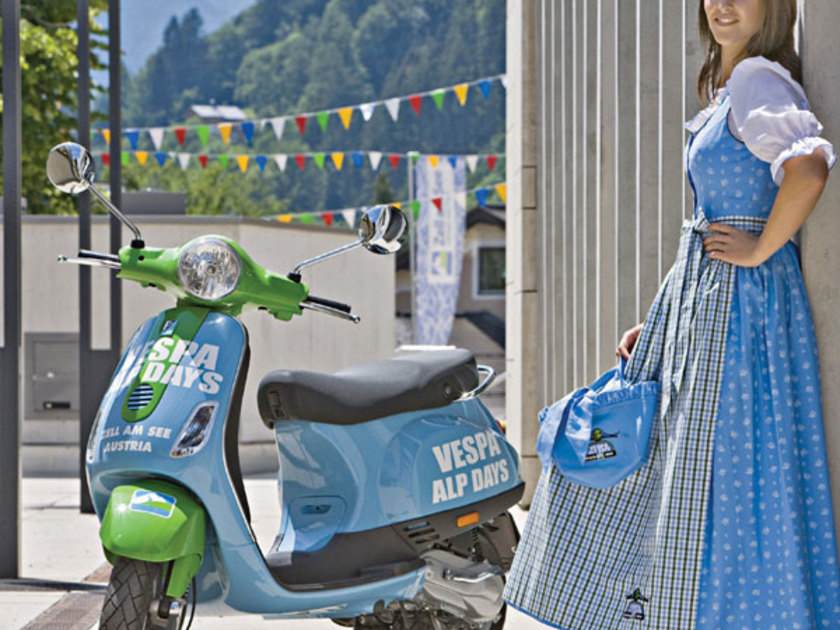 Vespa alp days 2011