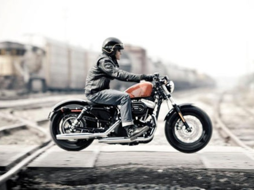 Harley Davidson Xl Forty Eight Testbericht Auto Motor At