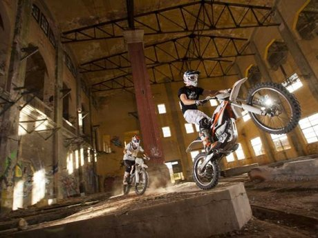 KTM Freeride Action