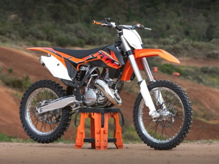 ktm optimiert seine motocross modelle auto. Black Bedroom Furniture Sets. Home Design Ideas