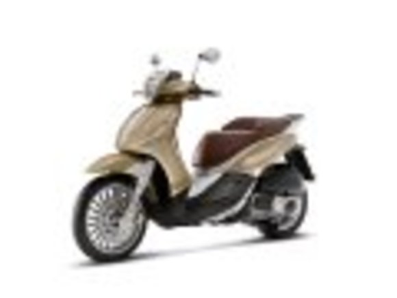 Piaggio New Beverly : Neue Technik, neues Design