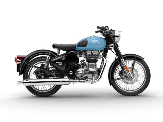Neu: Royal Enfield Classic 500 Redditch Edition; Bildquelle: Royal Enfield /KSR Group