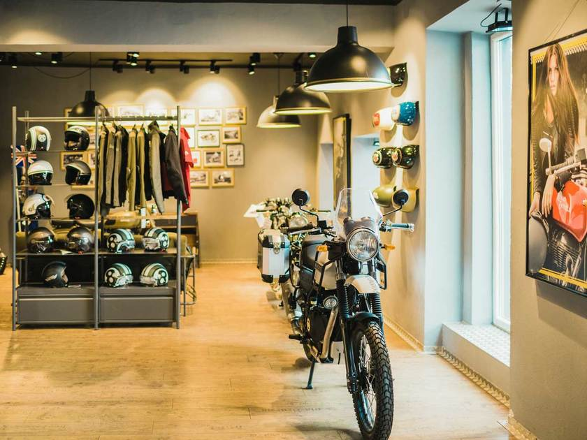 Neu: Royal Enfield Flagship Store in Wien