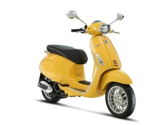 Neu: Vespa Sprint im Retro-Look