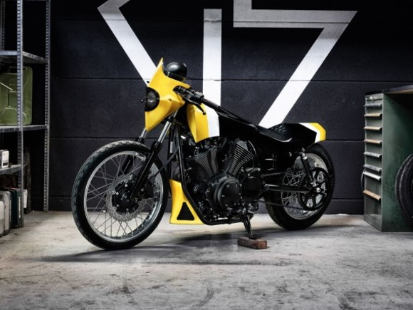 Yard Build Yamaha XV950 von GS Mashin