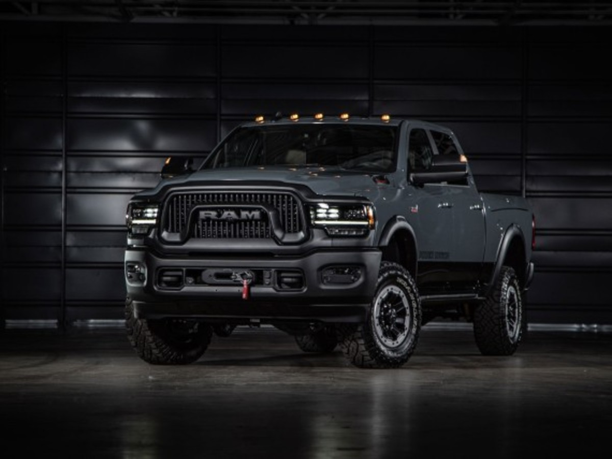 Ram Power Wagen 75th Anniversary Edition
