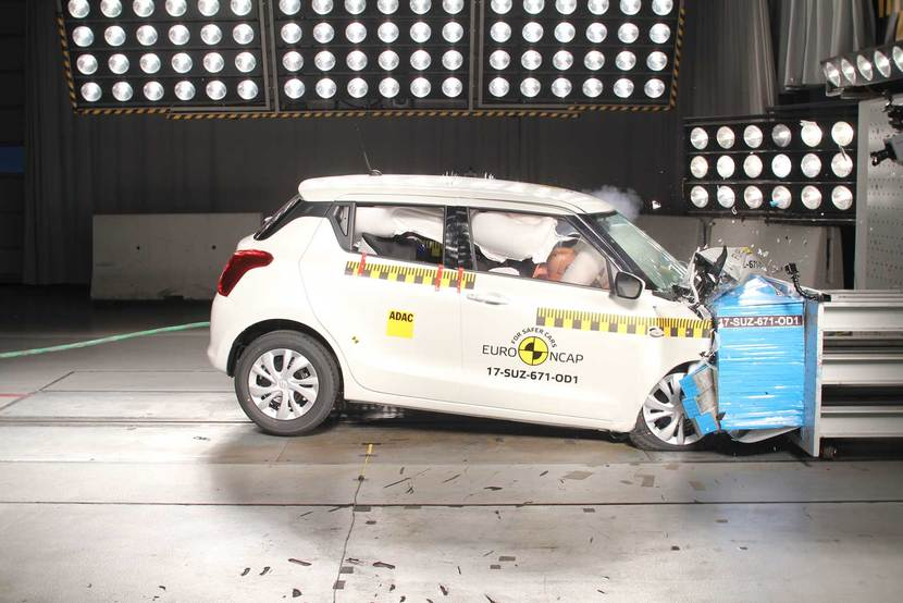 Suzuki Swift Crashtest