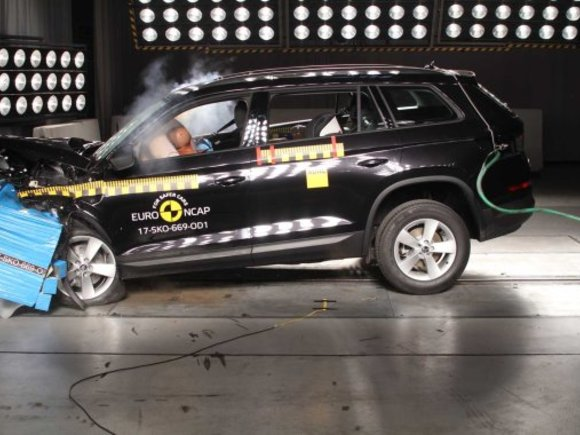 Crashtest: Mini Countryman, Skoda Kodiaq, Nissan Micra und Suzuki Swift