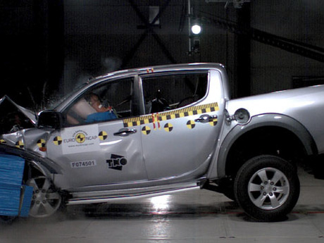 Pickup crashtest 2