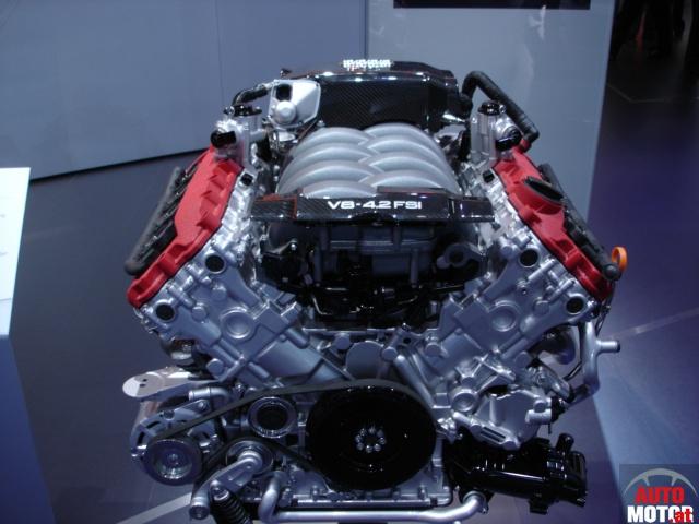Foto Audi-V8-4.2-FSI-Motor-01.jpg von Autosalon Genf 2006 : über ...