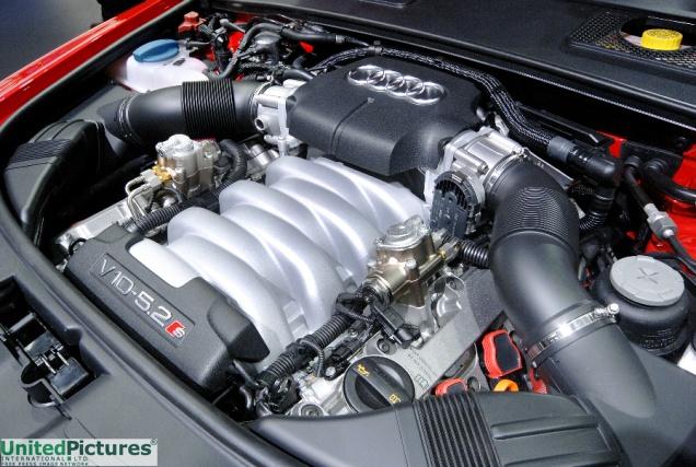 Foto Audi V10 Motor Jpg Von Los Angeles Autoshow 2008